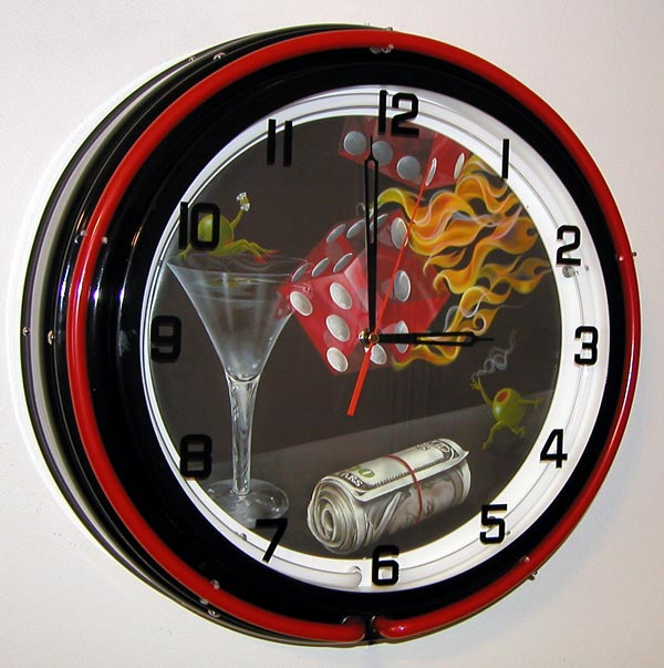 Michael Godard Neon Clocks 14 Quot Amp 18 Quot